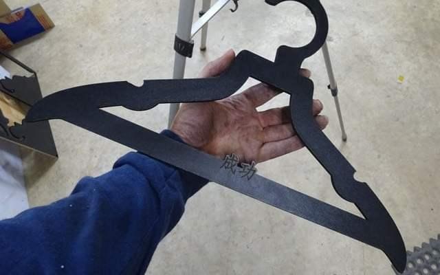 custom-luxury-hanger-x5 Custom Luxury Hangers: CNC Laser Engraved & Cut