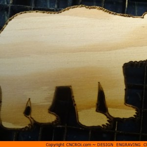 custom-silhouette-xx Bear Polar Shape (0004)