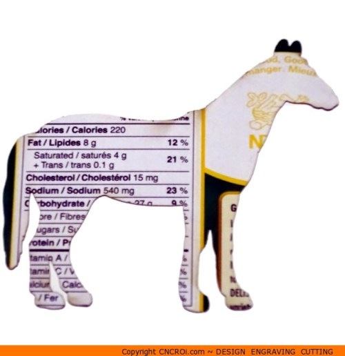 0078-horse-standing Horse Standing Shape (0078)