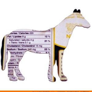 0078-horse-standing Horse Standing Shape (0078)