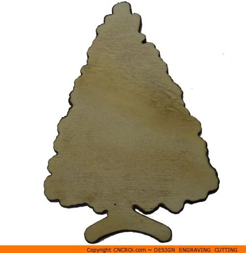 0122-tree-conifer-standb Conifer on Stand Shape (0122)