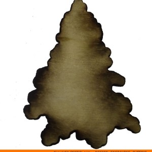 0126-tree-conifer-shaped Shaped Conifer Shape (0126)