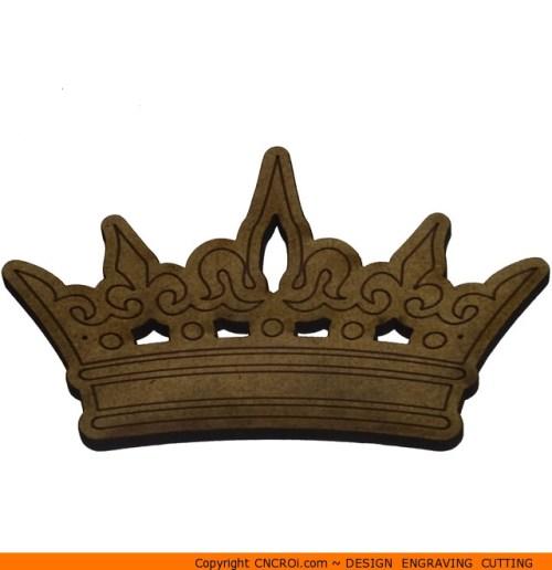 0160-crown-royal-king Royal King's Crown Shape (0160)