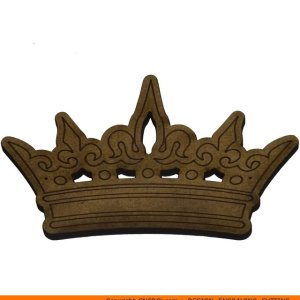 0160-crown-royal-king Royal King's Crown Shape (0160)