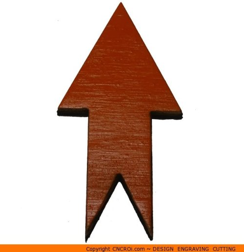 117-arrow-pointyx Pointy Start & End Arrow Shape (0117)