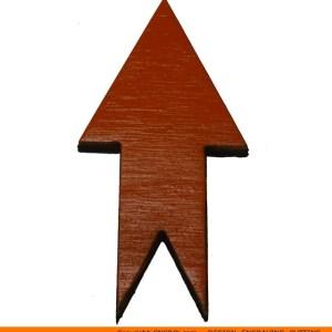 117-arrow-pointyx Pointy Start & End Arrow Shape (0117)
