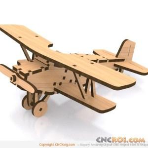 cnc-laser-biplane Classic Biplane