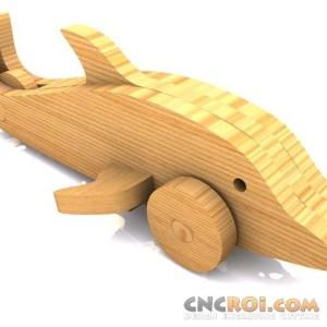 cnc-laser-dolphin Dolphin