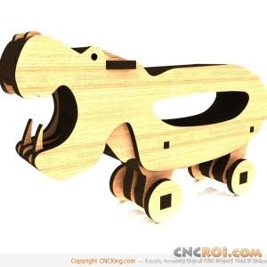 cnc-laser-hippopotamus-1 Hippopotamus