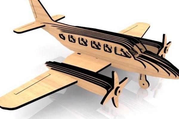 cnc-laser-navajo-plane Flat Rate Pricing