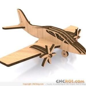 cnc-laser-twin-plane Twin Prop Plane