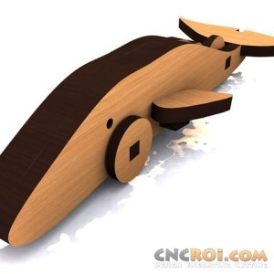 cnc-laser-whale-1 Humpback Whale