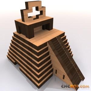 mayan-temple-bank-model-kit-1 Mayan Temple Bank