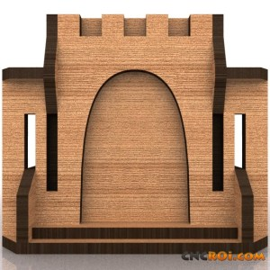 medieval-castle-bank-model-kit-2 Medieval Castle Bank