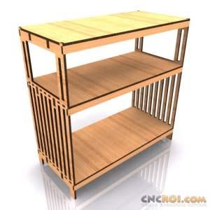 table-serving-model-kit-laser-1 Serving / Organizing Table