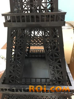 1 Custom Metal Eiffel Tower: CNC Laser Cut