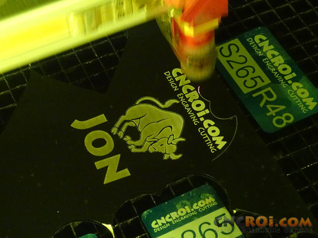 acrylic-badge-1 Custom Acrylic Name Badge: CNC Laser