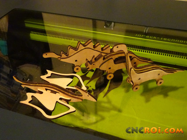 custom-centrosaur-model-1 Custom Centrosaurus Dinosaur Model: CNC Laser Cutting