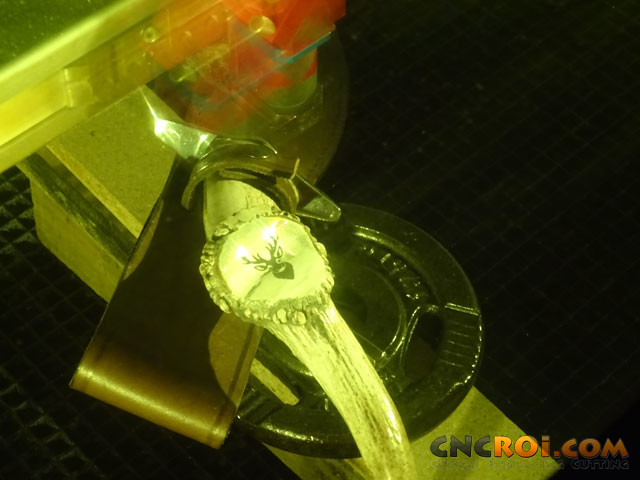 antler-engraving-1 Laser Engraving Antler Knives: Permanent Branding Solutions