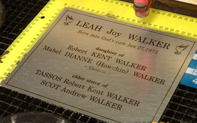 metal-memorial-plaque-9 Custom Memorial Plate: 304 Stainless Steel Custom Cut & Annealed