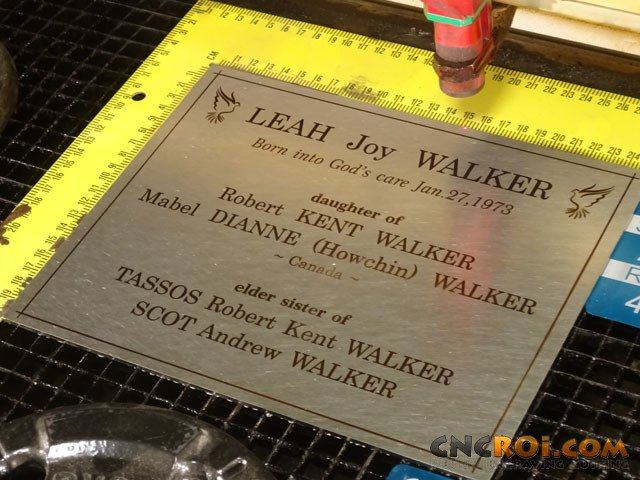 metal-memorial-plaque-1 Custom Memorial Plate: 304 Stainless Steel Custom Cut & Annealed