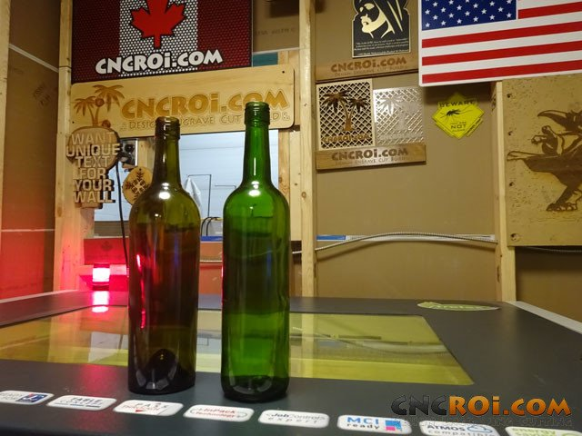 wine-bottle-laser-1 Custom Wine Bottle Branding: CNC Laser Engraving with Rotary System