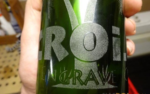 wine-bottle-laser-x6 Custom Wine Bottle Branding: CNC Laser Engraving with Rotary System