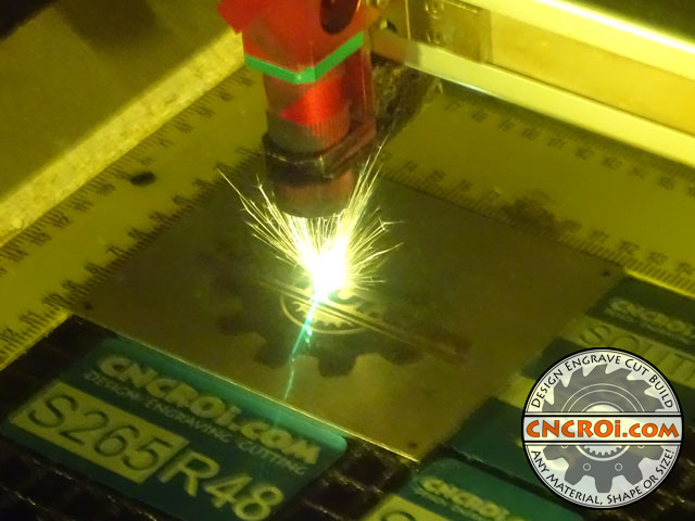 "fiber-etch-anneal-1 Fiber Annealing VS Etching Stainless Steel: 11Ga (1/8"" or 3 mm) 316 #4 Finish Plate"