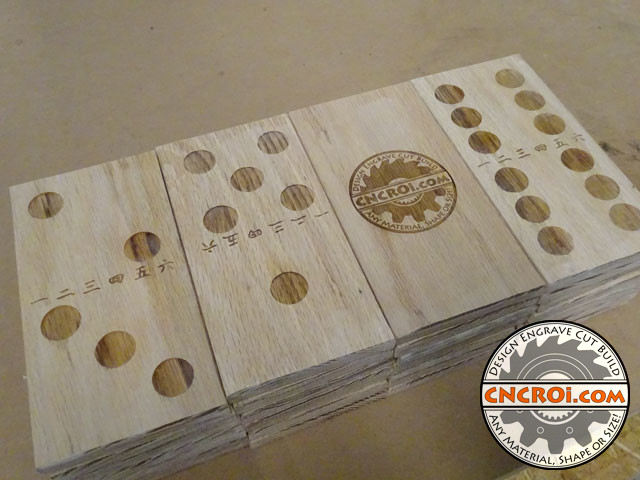 custom-oak-domino-1 Solid Oak Domino Set: Reclaimed Wood to High End Game