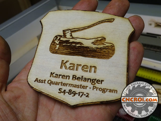 solid-oak-badge-1 Solid Oak Name Badges