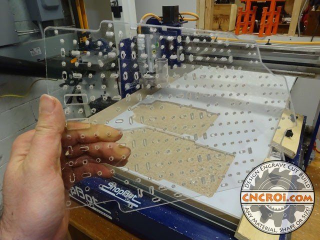 "polycarbonate-parts-1 Custom Polycarbonate Parts: CNC Routing 1/4"" or 6 mm"