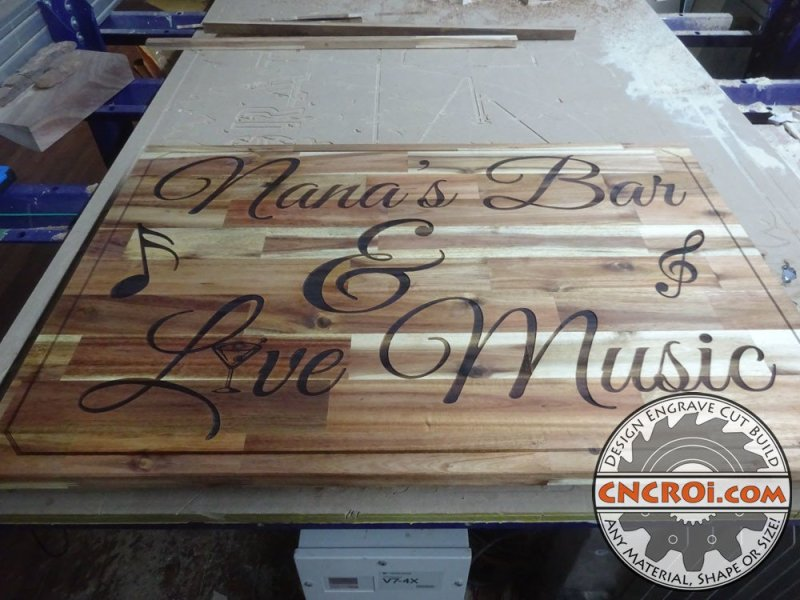 custom-bar-sign-1 Custom Bar Sign: Acadia Woodworking