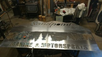 64 x 120 aluminum sign 2