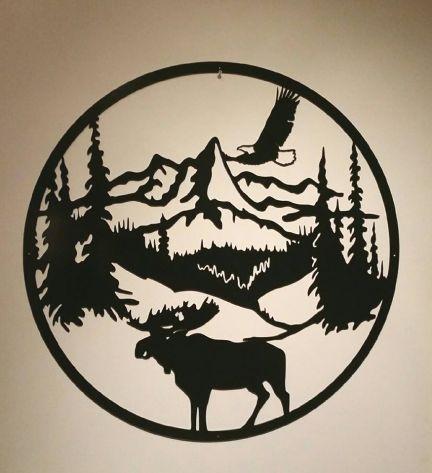 Moose Round