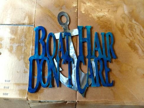 boat hair don't care custom