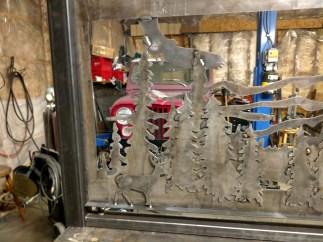 custom made banister 3 wildlife