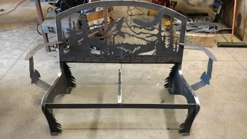 steel bench 2