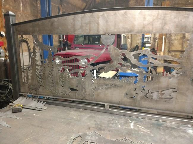 wildlife banister bare steel 2