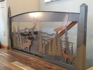 wildlife banister installed