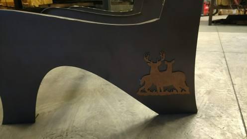 williams wildlife steel bench details