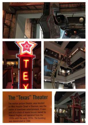 Texas Theater Sign