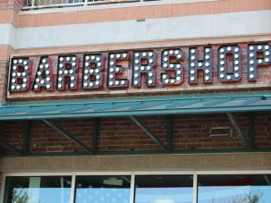 Barbershop sign