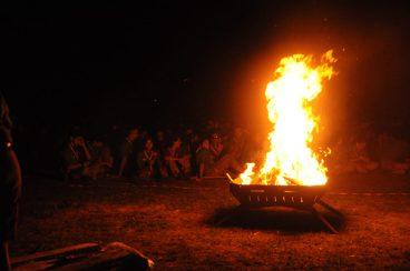 fuoco di bivacco scout CN2018