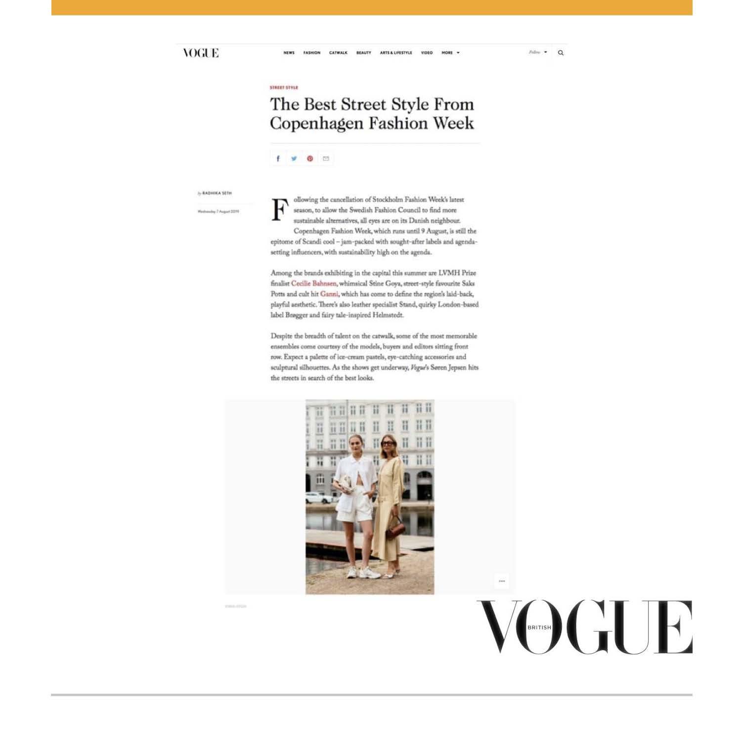 C.Nicol Vogue Magazine UK