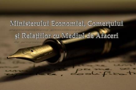 S-au aprobat organizarea, functionarea si atributiile  Ministerului Economiei, Comertului si Relatiilor cu Mediul de Afaceri