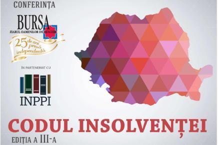"Conferinta ""Codul Insolventei"" – Editia a III-a"