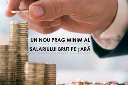 De la 1 februarie 2017, salariul minim brut pe tara creste la 1450 lei!