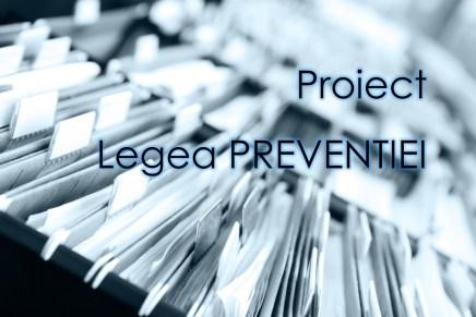 Proiect – Legea preventiei