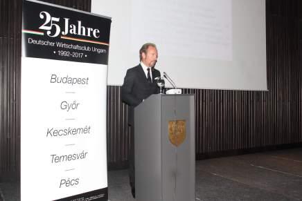 Invatamantul profesional dual, dezbatut cu prilejul lansarii sectiei Timisoara a Clubului Economic German din Ungaria