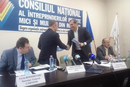 HORA a semnat protocolul de aderare la CNIPMMR